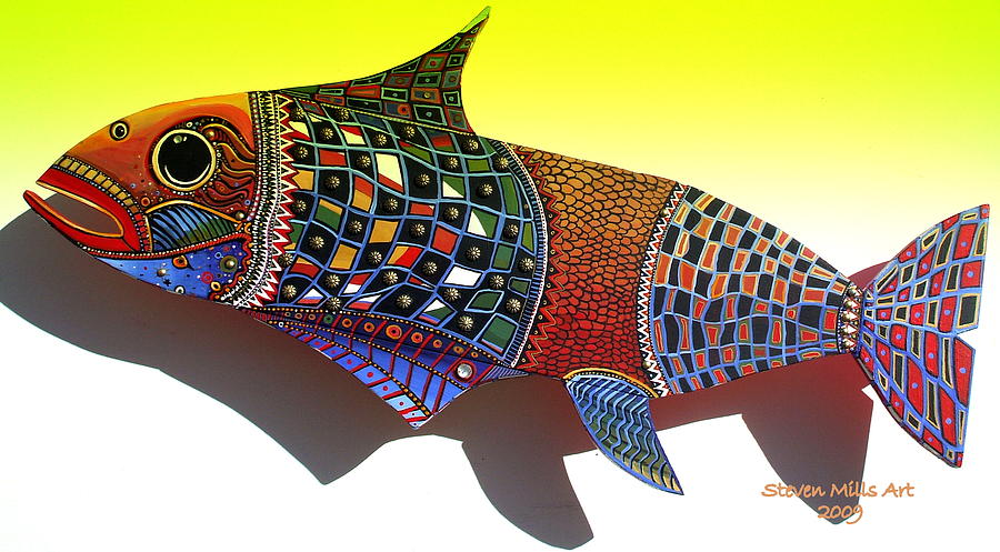 Fish Art By Steven Mills