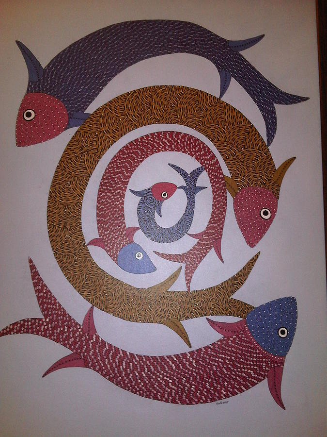 Fish Ds 07 Painting
