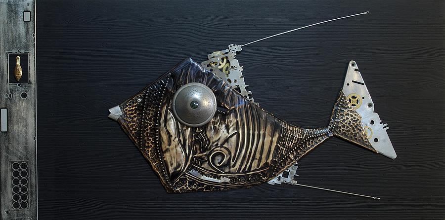 Fish Dx 6 Sculpture