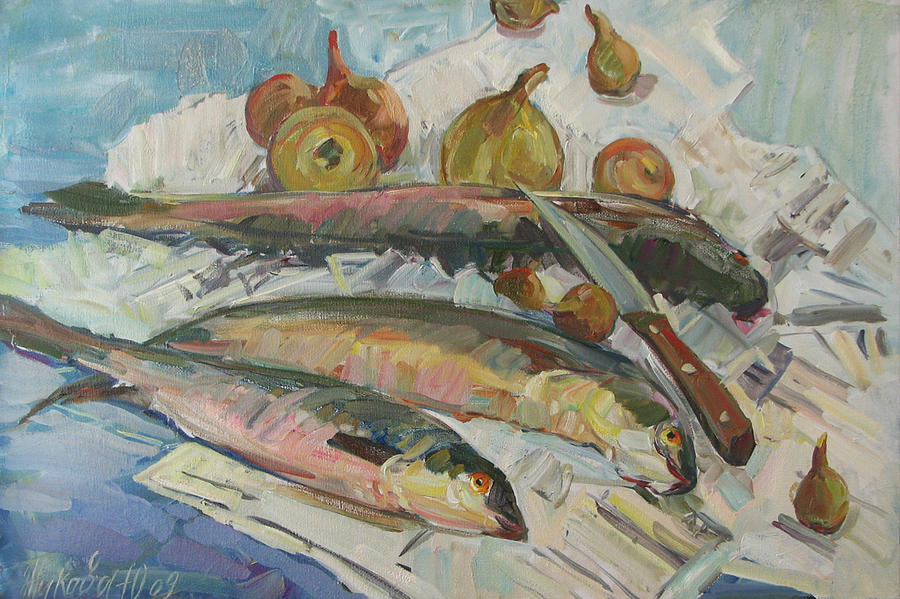 Fish Soup Painting