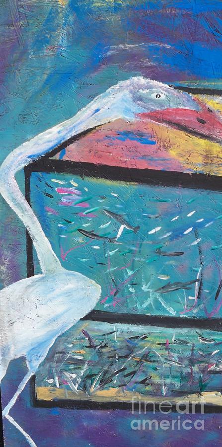 Fish Stork Painting