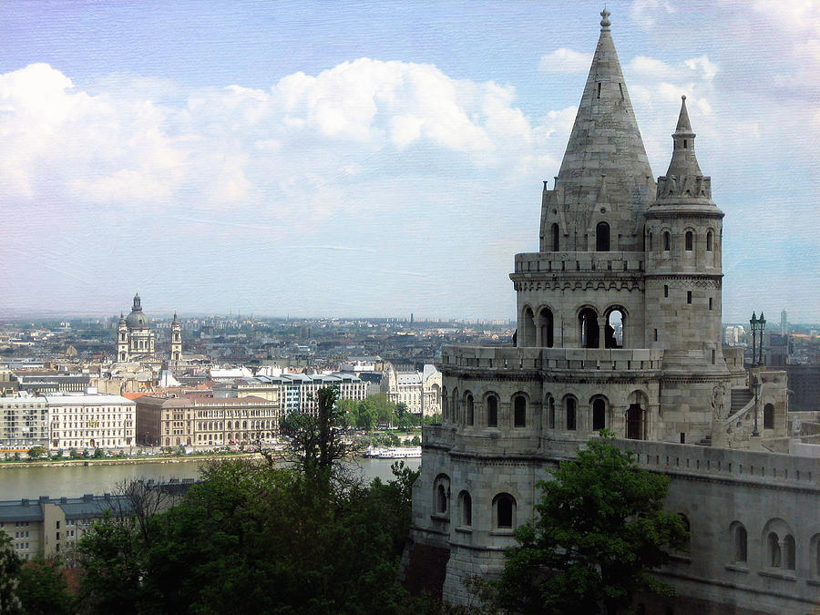 Fishermans Bastion Photograph  - Fishermans Bastion Fine Art Print