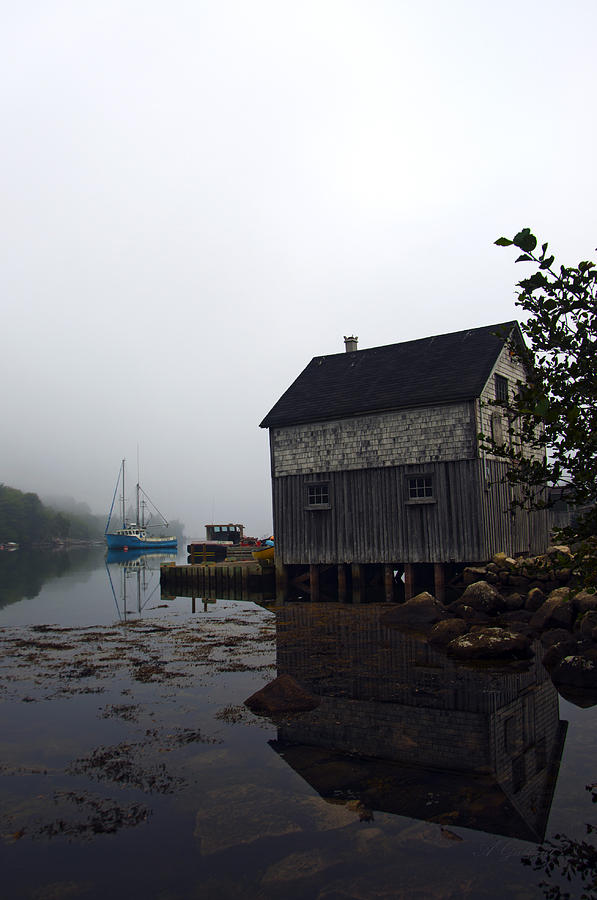 Fishermans Shack Photograph