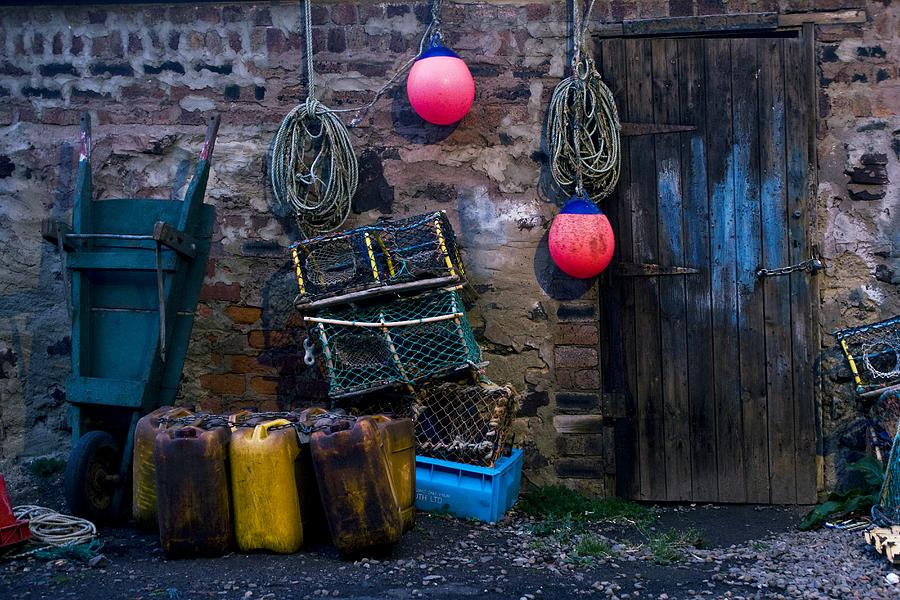 Fishermans Supplies Photograph  - Fishermans Supplies Fine Art Print
