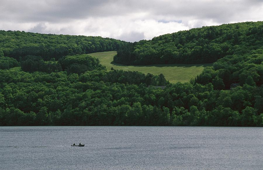 Fishermen On Otsego Lake Photograph