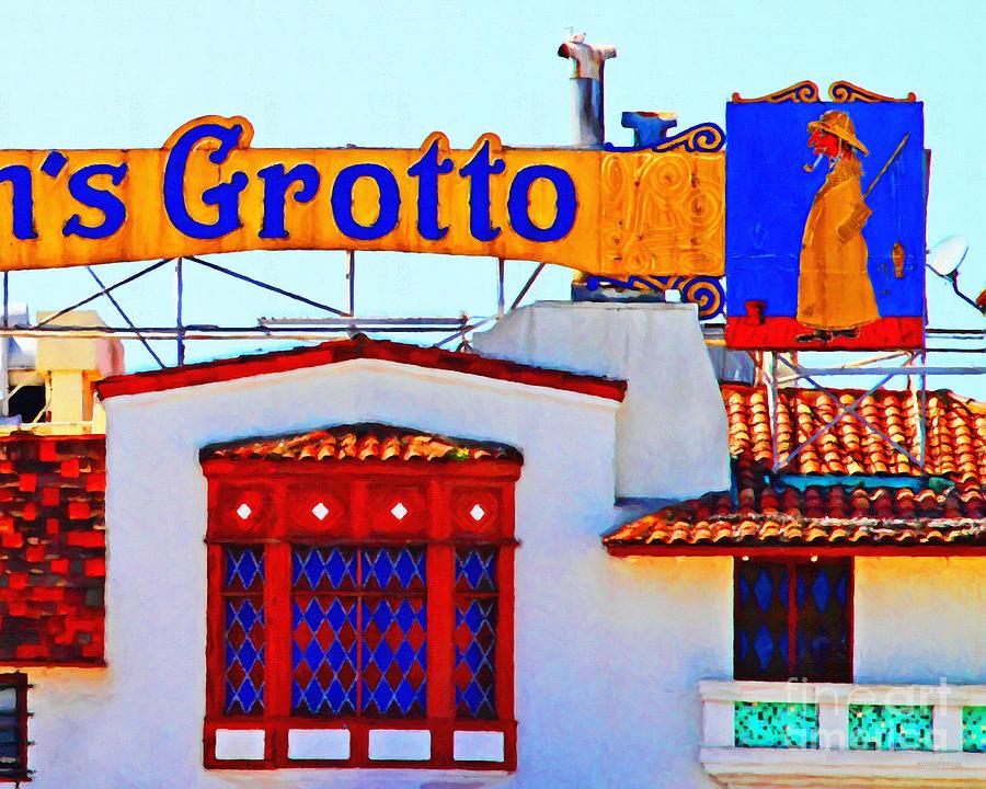Fishermens Grotto Restaurant At Fishermans Wharf . San Francisco California . 7d14350 Photograph