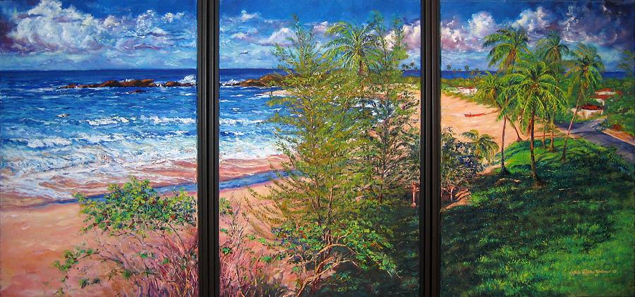 Fishermens Paradise Painting