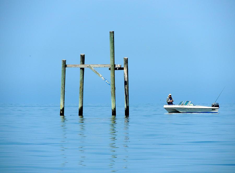Fishing At The Bird Rack Photograph