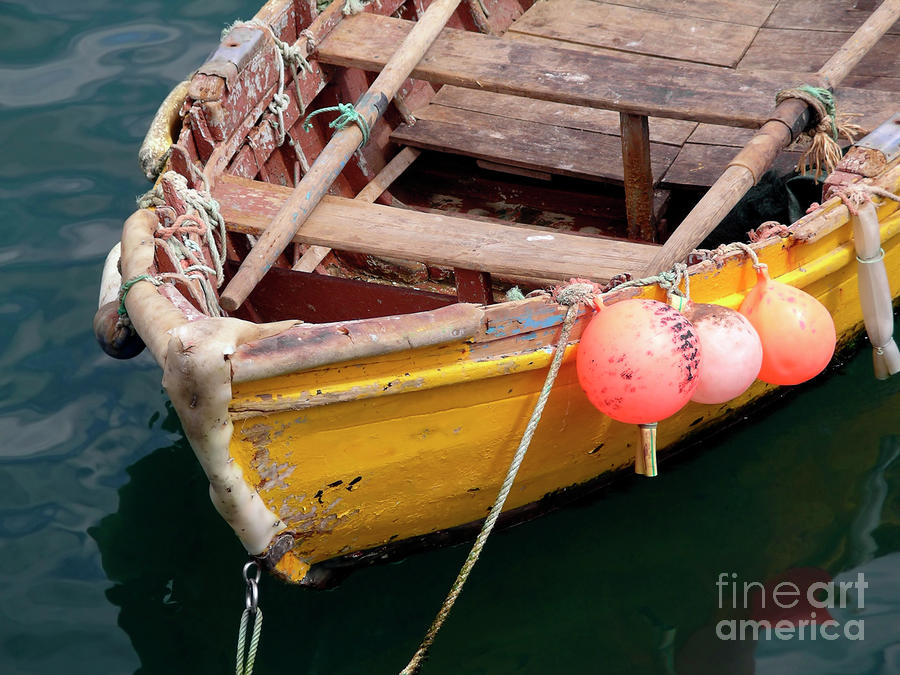 Fishing Boat Photograph  - Fishing Boat Fine Art Print