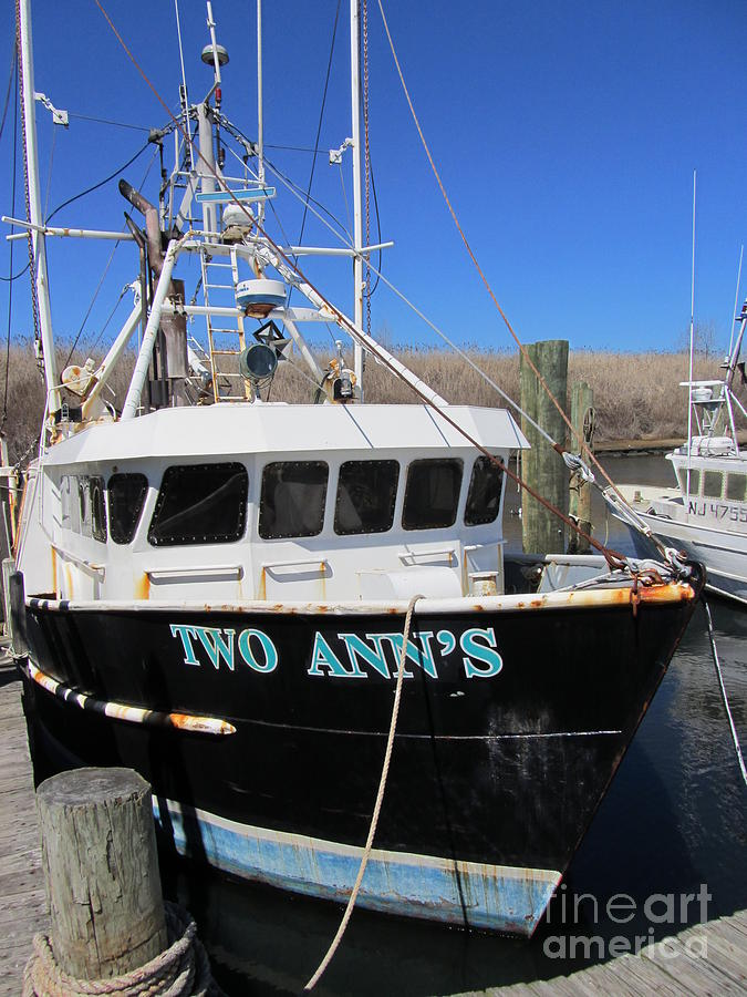 Point pleasant fishing boat photograph by susan carella for Point pleasant fishing boats