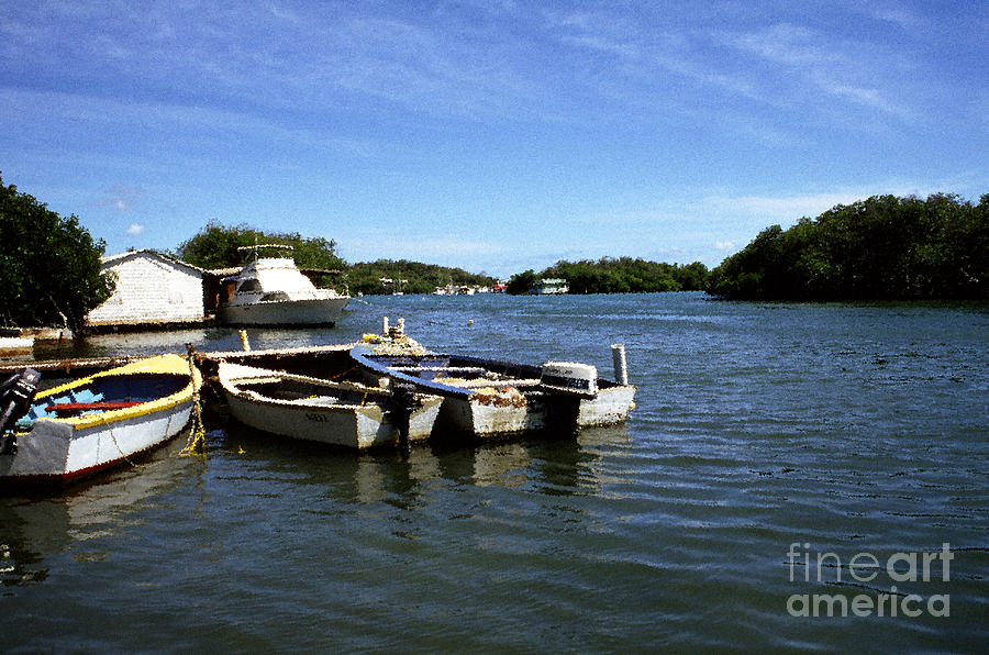 Fishing Boats Paguera Photograph  - Fishing Boats Paguera Fine Art Print
