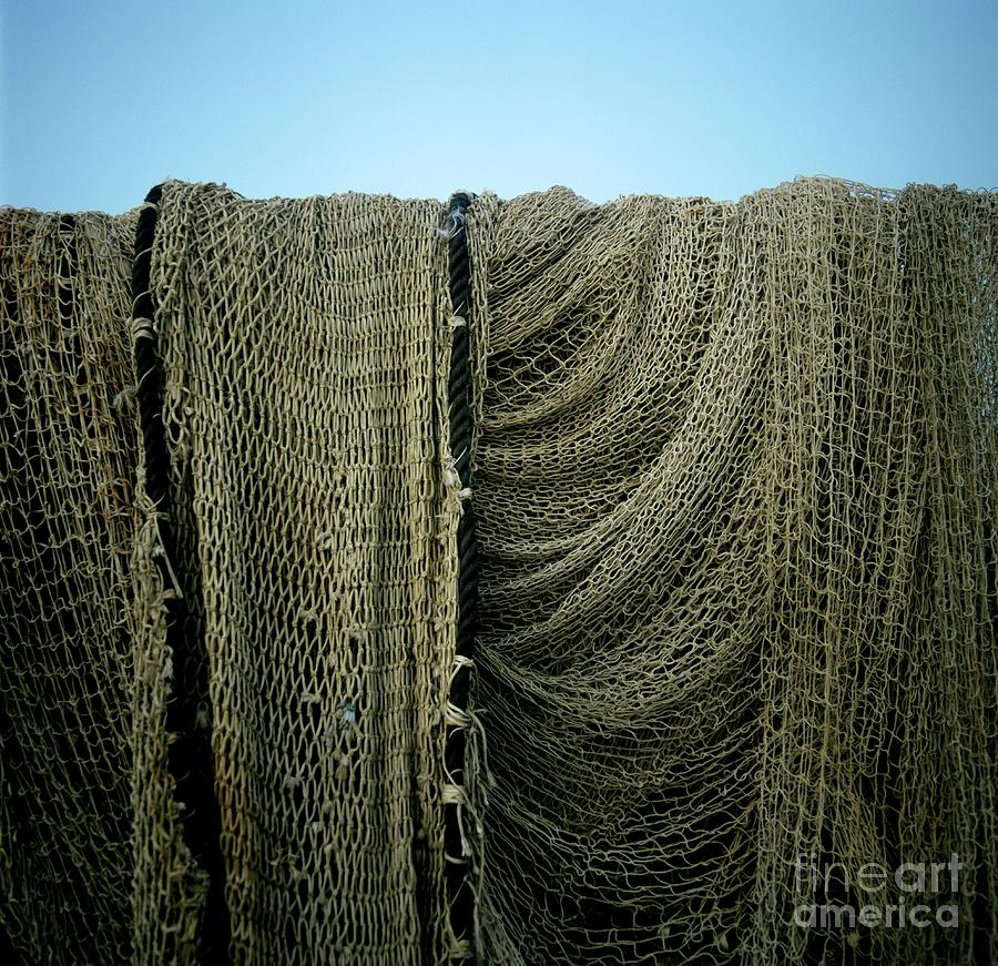 Fishing Net Photograph  - Fishing Net Fine Art Print