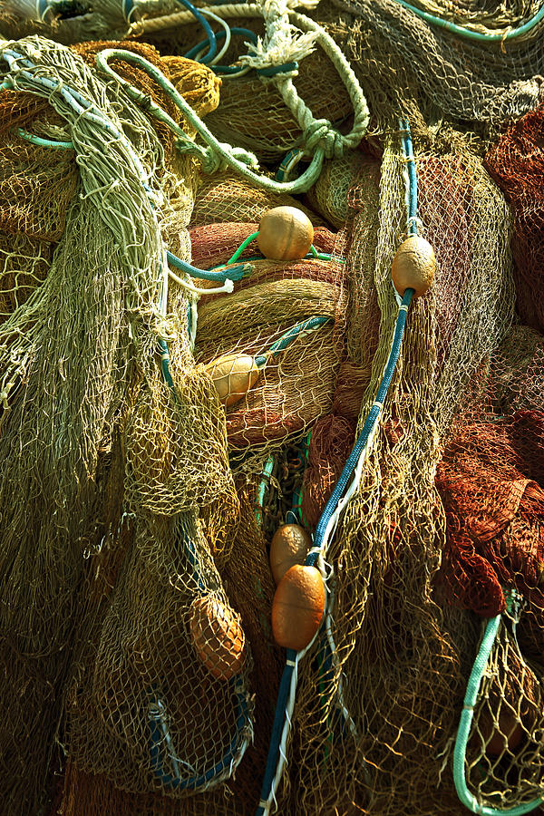 Fishing Nets Photograph