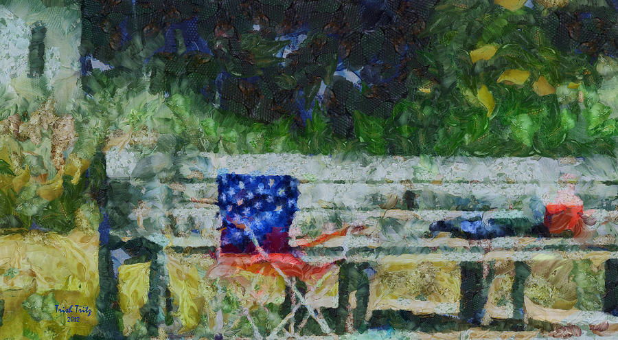 Fishing On Memorial Day Photograph  - Fishing On Memorial Day Fine Art Print