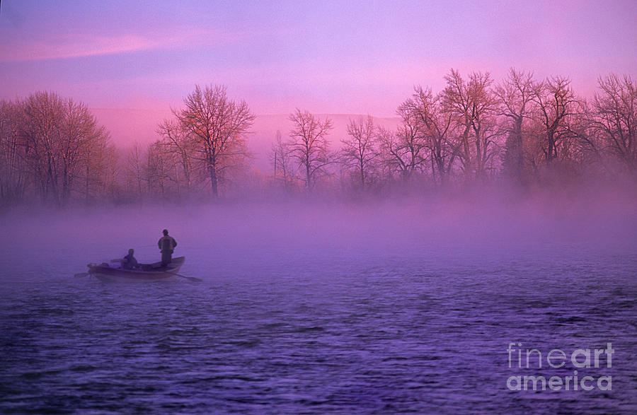 Fishing On The Bow Photograph  - Fishing On The Bow Fine Art Print