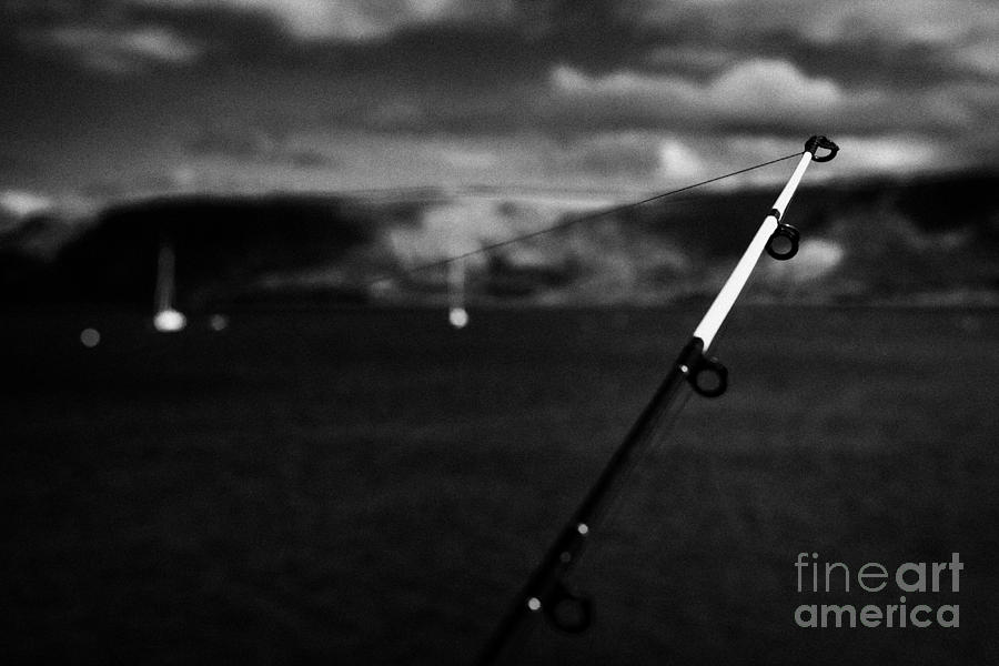 Fishing On The County Antrim Coast Northern Ireland Photograph