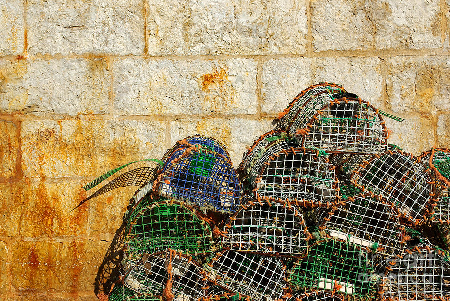 Fishing Traps Photograph  - Fishing Traps Fine Art Print