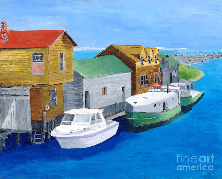 Fishtown Painting