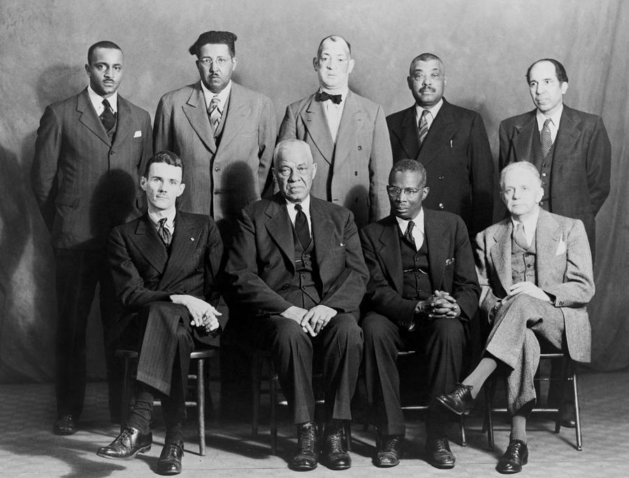 Five African American Defendants Photograph