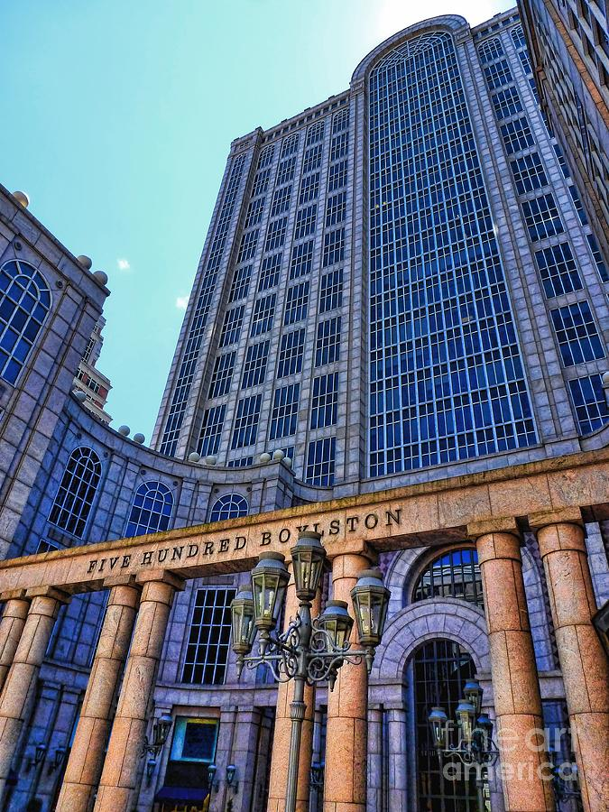 Five Hundred Boylston - Boston Architecture Photograph  - Five Hundred Boylston - Boston Architecture Fine Art Print