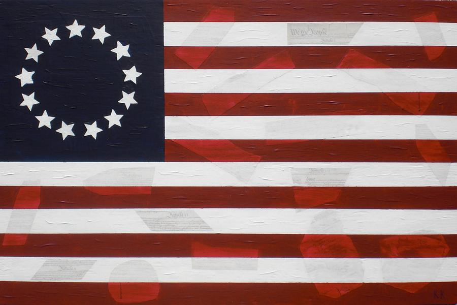 Flag - Constitution Painting