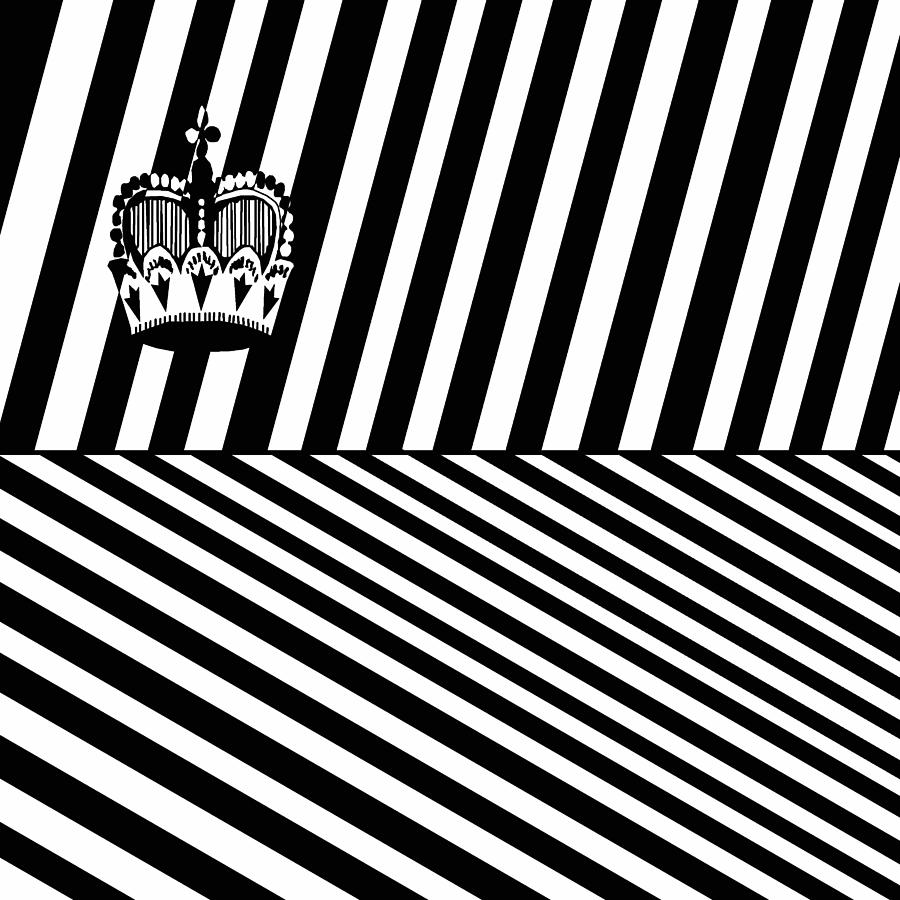Flag Of Lichtenstein Casino Illusion Drawing