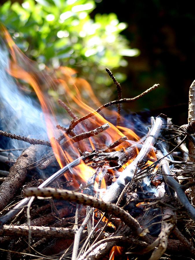 Flame Photograph