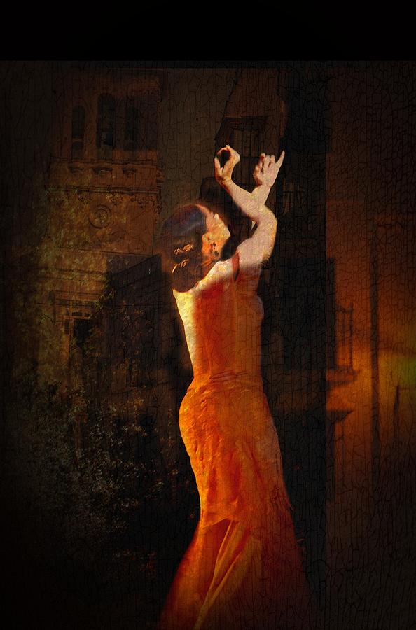 Flamenco In The Streets Photograph  - Flamenco In The Streets Fine Art Print