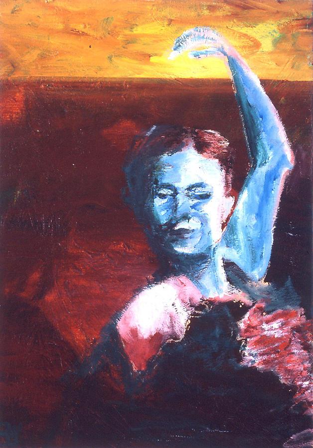 Flamenco Seco Painting