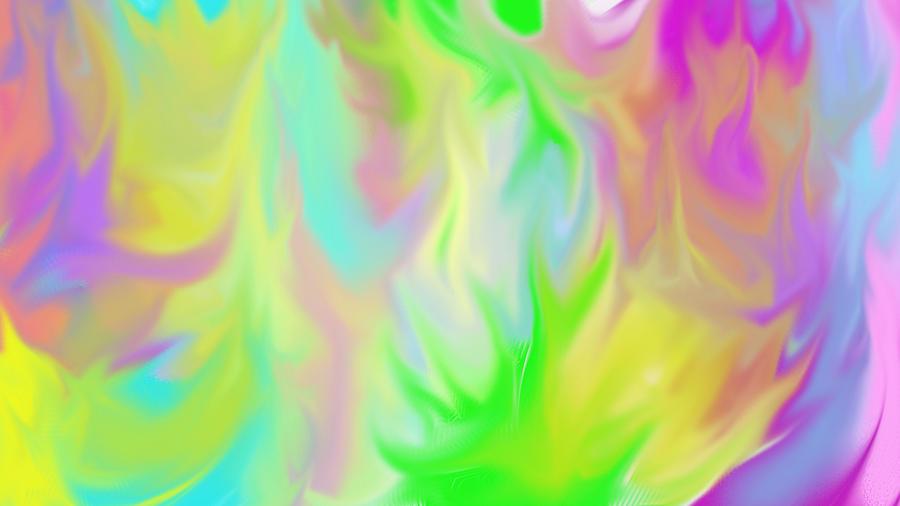 Flames / Chamas Digital Art