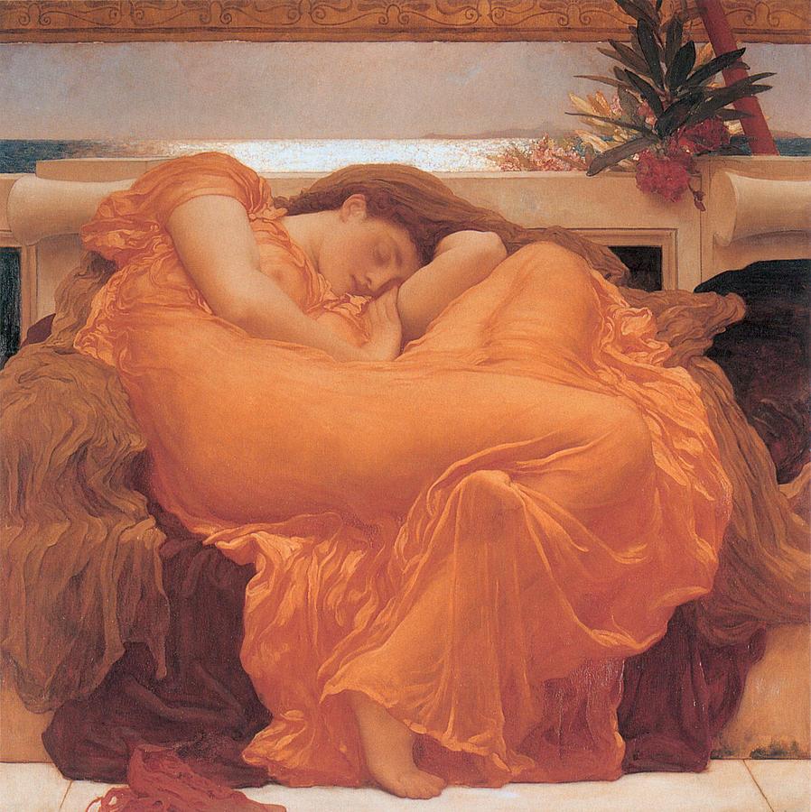 Flaming June - 1895 Painting
