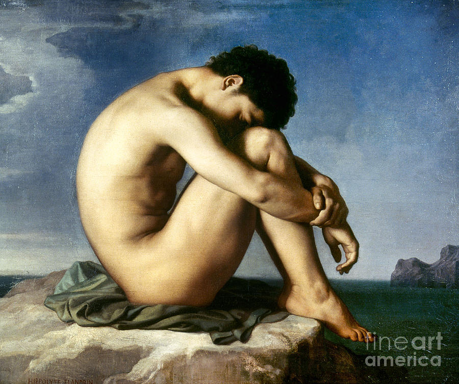 Flandrin: Nude Youth, 1837 Photograph - Flandrin: Nude Youth, 1837 Fine Art ...