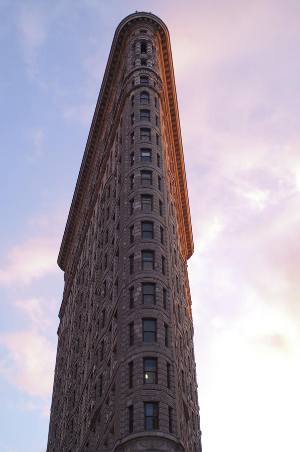 Flat Iron Building Greeting Card  - Flat Iron Building Fine Art Print