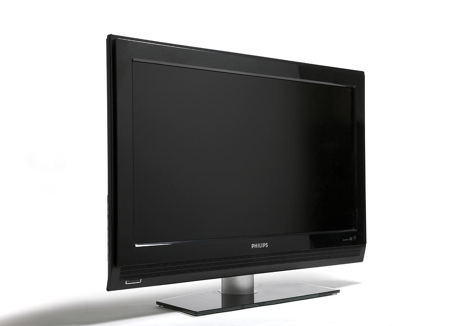 Flat-screen Television Photograph  - Flat-screen Television Fine Art Print
