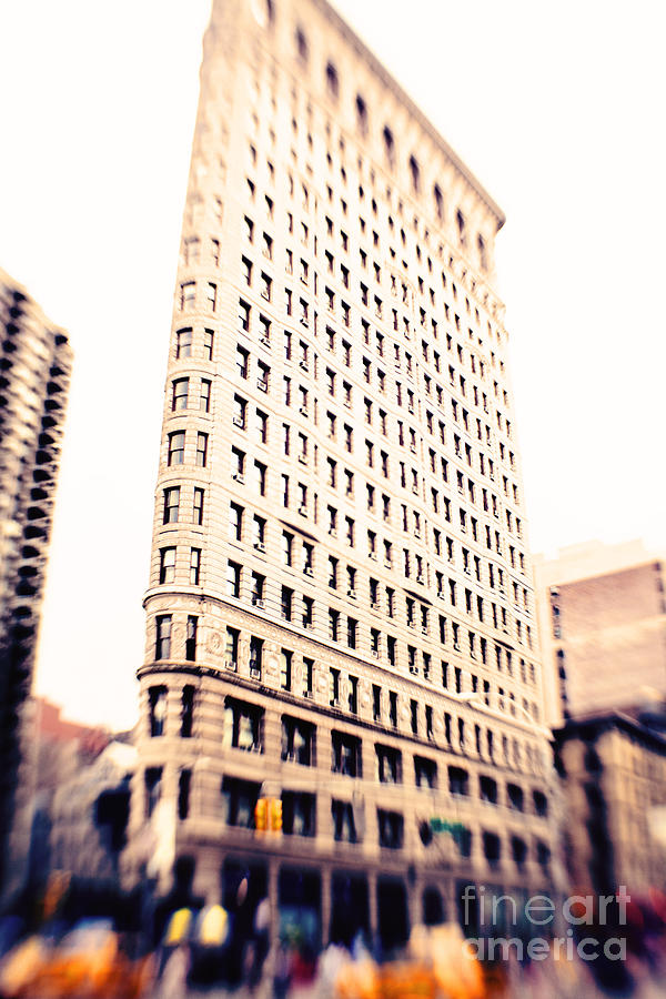 Flatiron Building Nyc Photograph