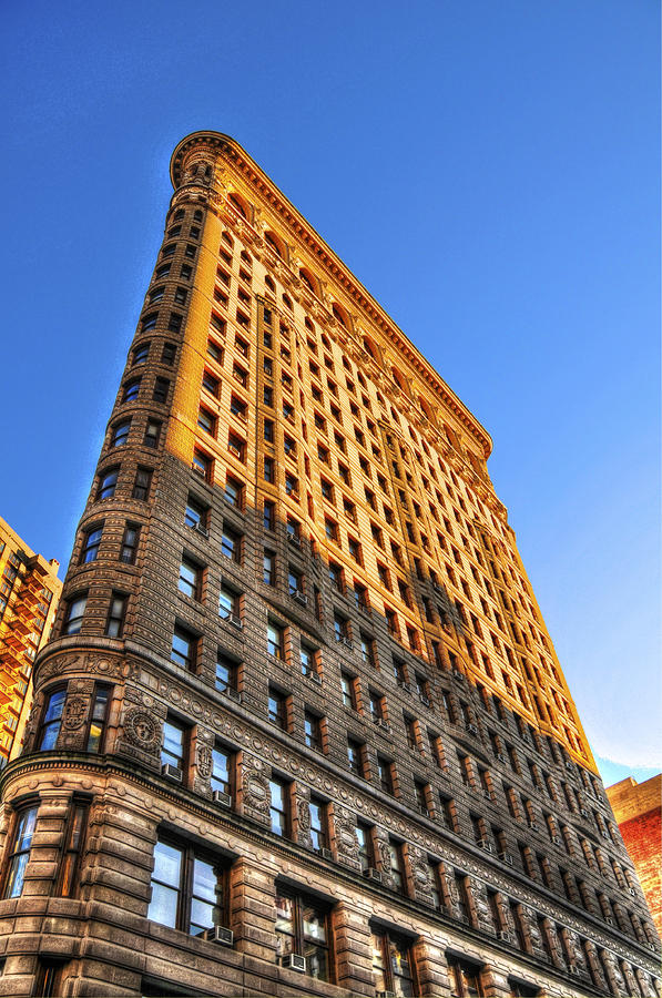 Flatiron Building Profile Too Photograph  - Flatiron Building Profile Too Fine Art Print