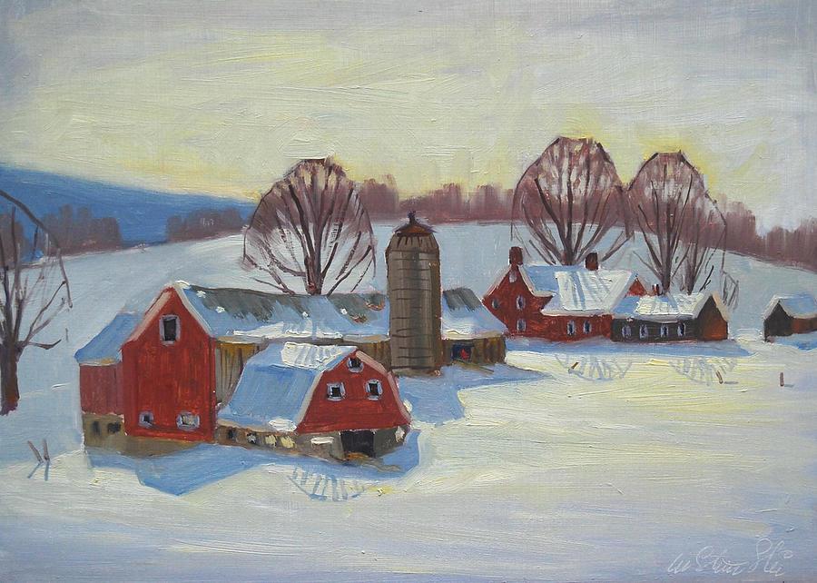 Fletcher Farm Painting