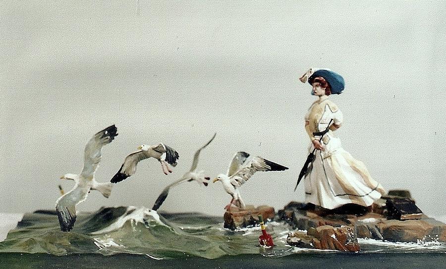 Flight Of The Gulls Sculpture