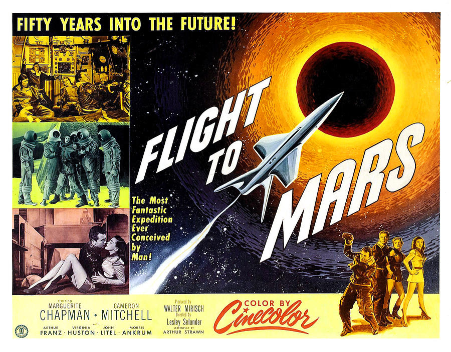 Flight To Mars, 1951 Photograph  - Flight To Mars, 1951 Fine Art Print