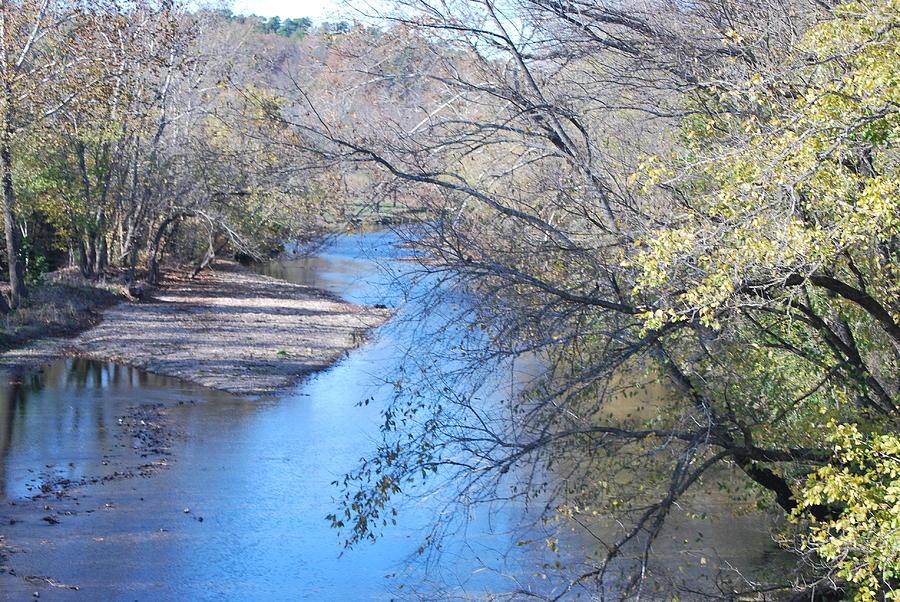 Flint Creek.water Photograph - Flint Creek Colcord Oklahoma by Michele Carter