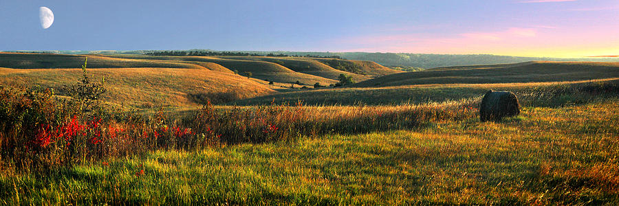 Flint Hills Shadow Dance Photograph  - Flint Hills Shadow Dance Fine Art Print