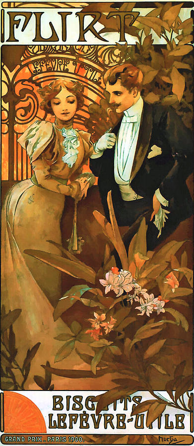 Flirt Painting