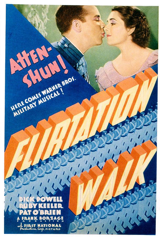 Flirtation Walk, Dick Powell, Ruby Photograph