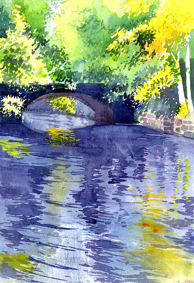 Floods Painting  - Floods Fine Art Print