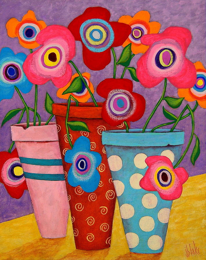 Floral Happiness Painting