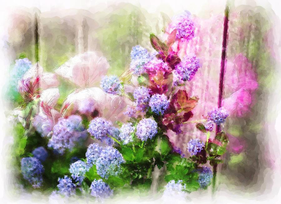 Floral Merge 11 Photograph