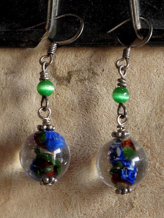 Jewelry Jewelry - Floralspheres by Jan Brieger-Scranton