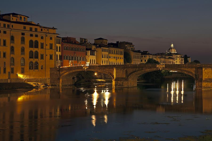 Florence - Ponte San Trinita Photograph