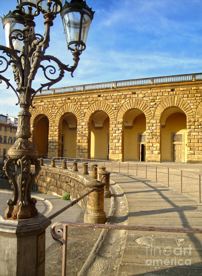 Florence Italy Photograph - Florence Italy - Pitti Palace - 01 by Gregory Dyer