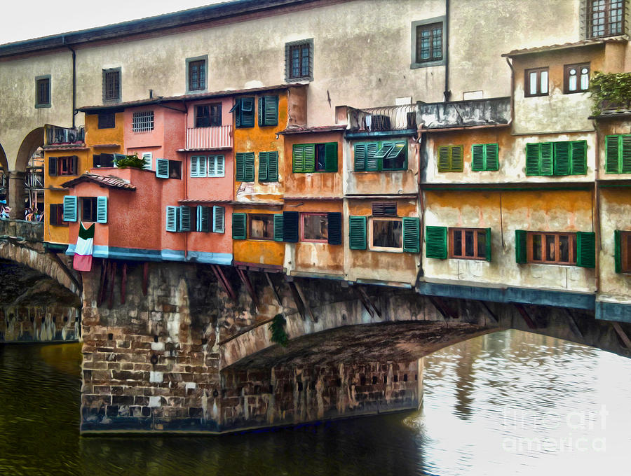 Florence Italy - Ponte Vecchio Photograph
